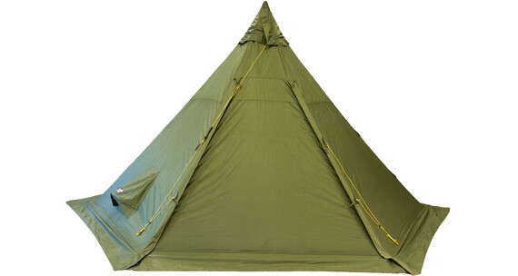 Helsport Pasvik 6-8 Outertent + Pole green